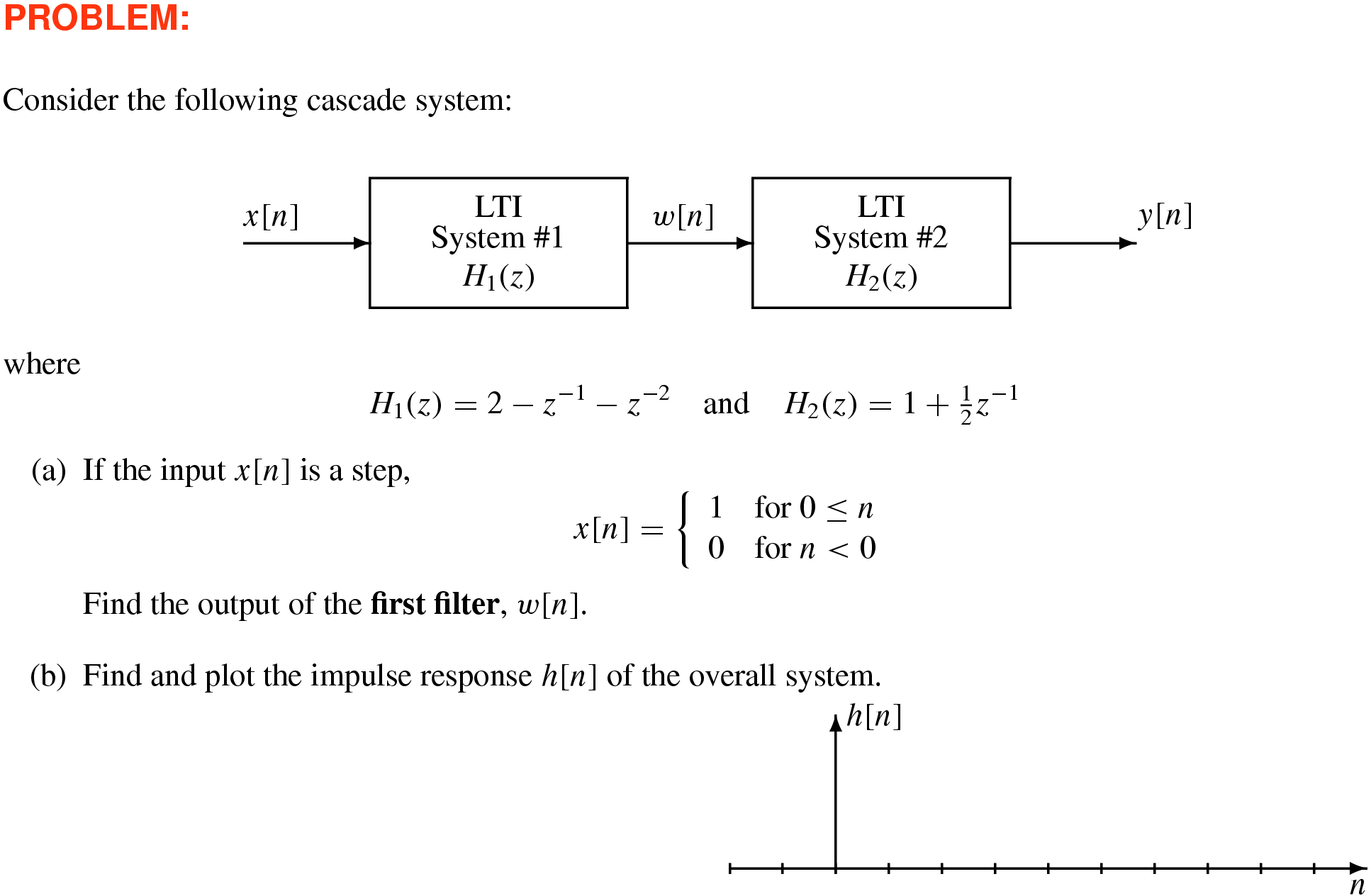 Dsp First 2e Resources Z Transform Transfer Function Block Diagram 91 Solution System Hz